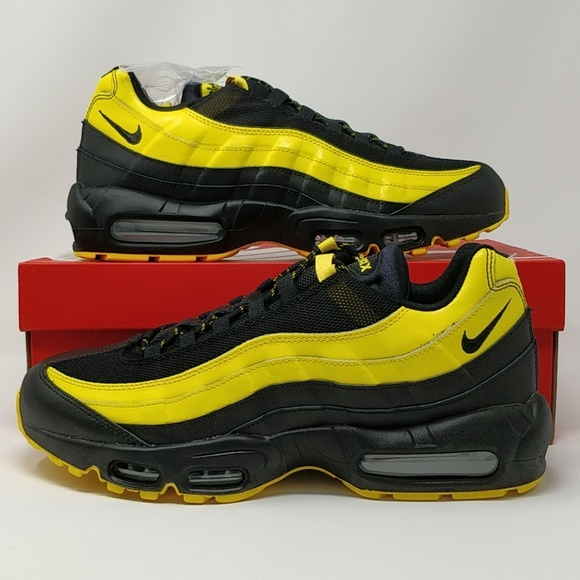 new concept bfee9 20973 Nike Air Max 95 Frequency Pack Yellow AV7939-001 NWT